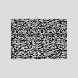 Cube Illusion 5'x7'Area Rug