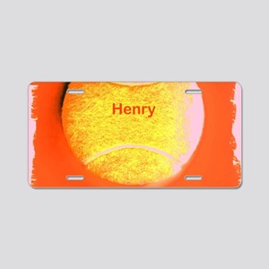 Henry Custom Personalized T Aluminum License Plate