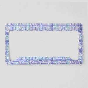 Complex Labyrinth License Plate Holder