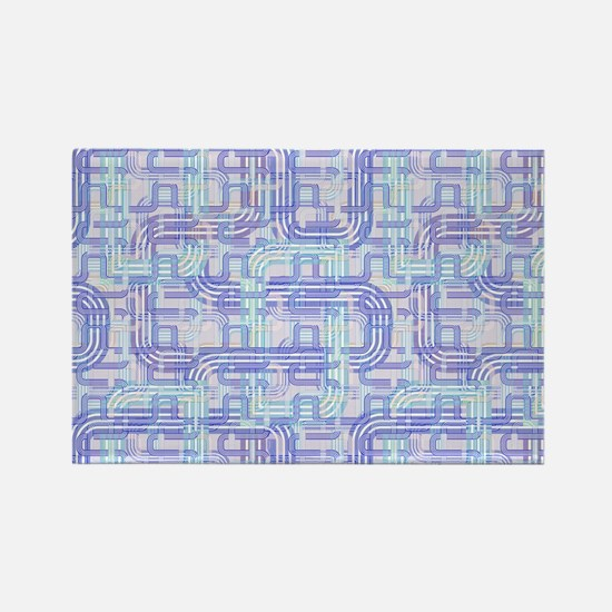 Complex Labyrinth Rectangle Magnet (100 pack)