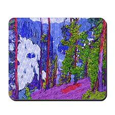 Snake River Yellowstone Photo Art Mousepad (b)