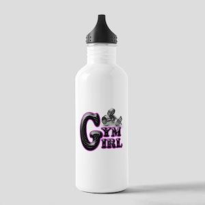 Gym Girl Design 1b Stainless Water Bottle 1.0L