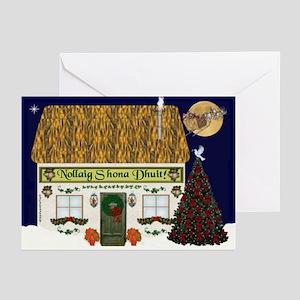 Irish Cottage Christmas Cards (Pk of 20)