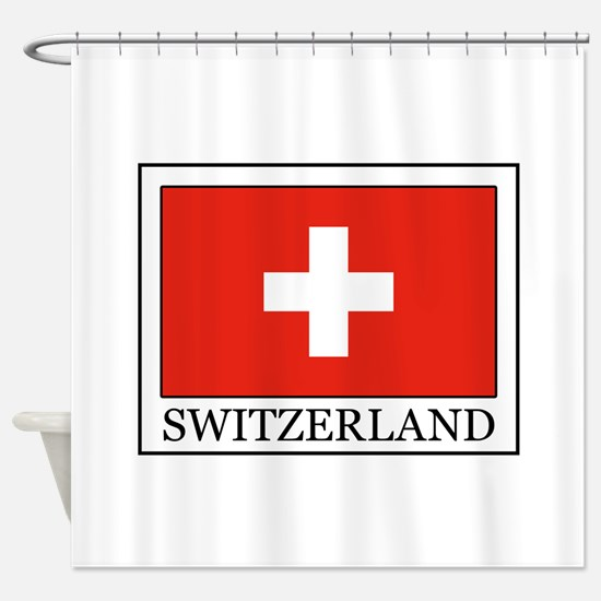 Switzerland Shower Curtain