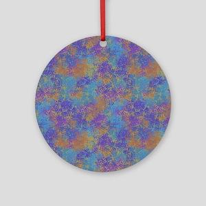 Colored Imprints Ornament (Round)