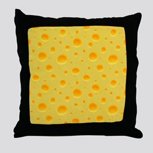 Cheese Section Throw Pillow