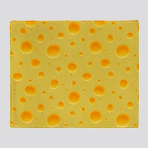 Cheese Section Throw Blanket