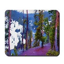 Snake River Yellowstone Photo Art Mousepad (a)