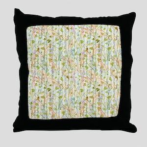 Widow Garden Throw Pillow