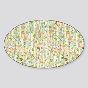 Widow Garden Sticker (Oval)