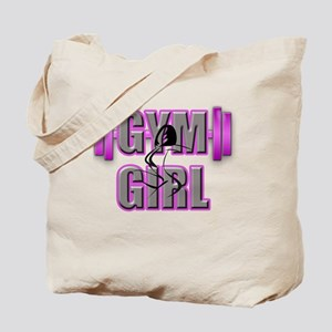 Gym Girl Design 4 Tote Bag