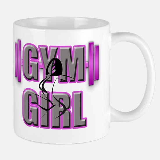 Gym Girl Design 4 Mug
