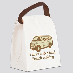 Cocoa Van French Cooking Canvas Lunch Bag