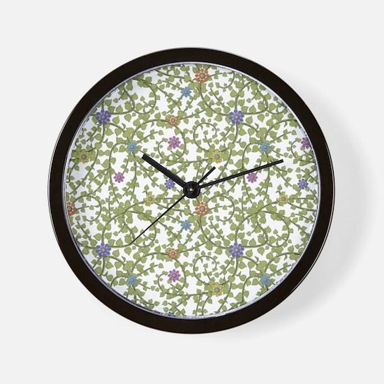 Paper Ivy Wall Clock