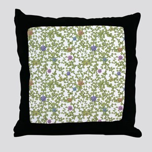 Paper Ivy Throw Pillow