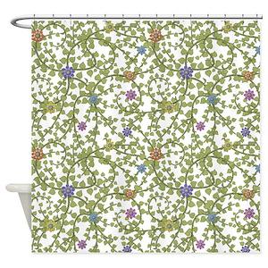 Ivy Pattern Shower Curtains