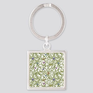 Paper Ivy Square Keychain