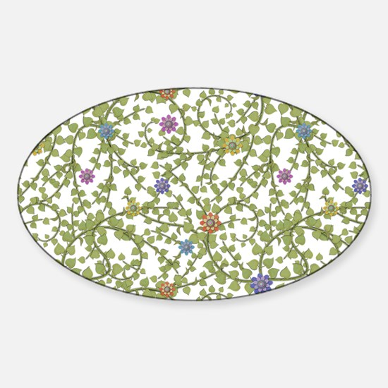 Paper Ivy Sticker (Oval)
