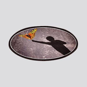 shadow-of-a-little-boy-touching-a-butterfly Patch
