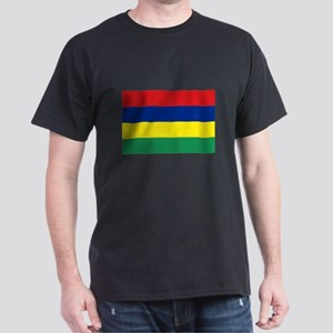 Mauritian Flag Dark T-Shirt