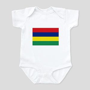 Mauritian Flag Infant Bodysuit