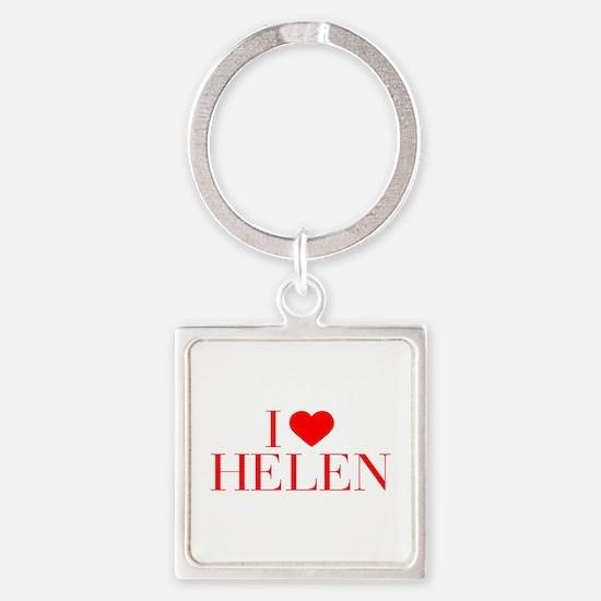 I love HELEN-Bau red 500 Keychains
