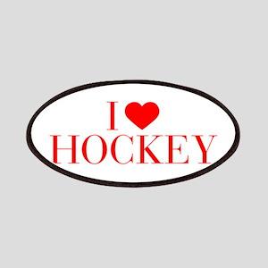 I love Hockey-Bau red 500 Patch