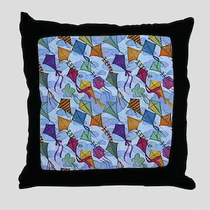 Kite Festival Throw Pillow