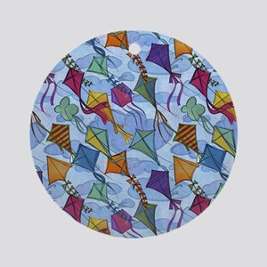 Kite Festival Ornament (Round)