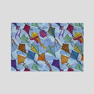 Kite Festival Rectangle Magnet
