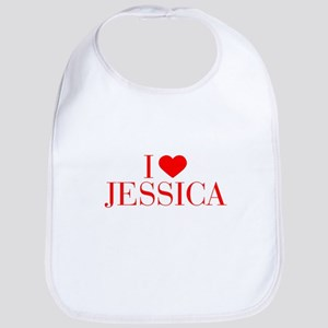 I love JESSICA-Bau red 500 Bib