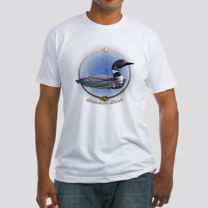 Commom Loon Fitted T-Shirt