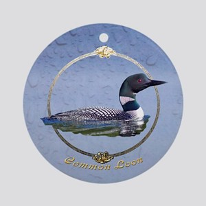 Commom Loon Ornament (Round)