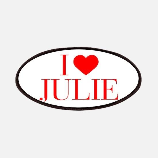 I love JULIE-Bau red 500 Patch