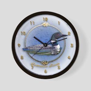 Commom Loon Wall Clock