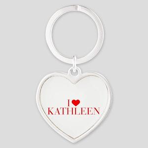 I love KATHLEEN-Bau red 500 Keychains