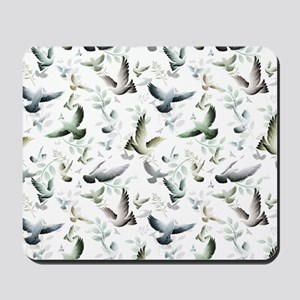 Flocked Together Mousepad