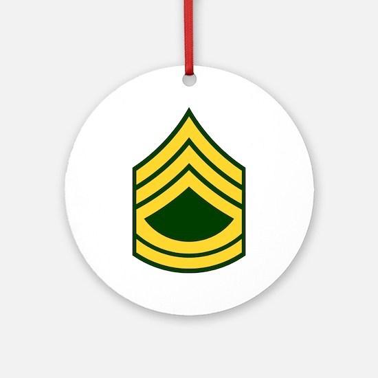 """Army E7 """"Class A's"""" Ornament (Round)"""