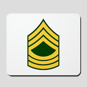 """Army E8 """"Class A's"""" Mousepad"""