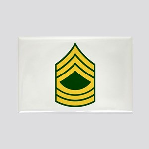 "Army E8 ""Class A's"" Rectangle Magnet"