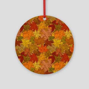 Fall Token Ornament (Round)