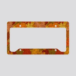 Fall Token License Plate Holder