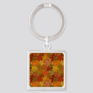 Fall Token Square Keychain