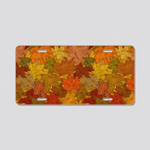 Fall Token Aluminum License Plate
