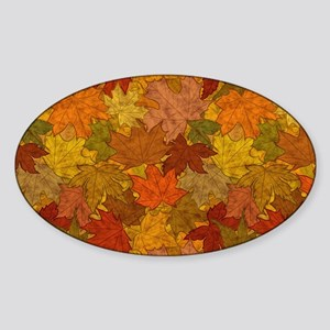 Fall Token Sticker (Oval)