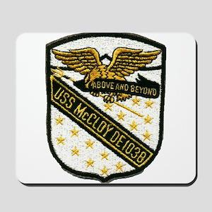 USS McCLOY Mousepad