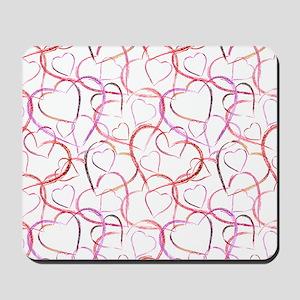 Empty Hearts Mousepad