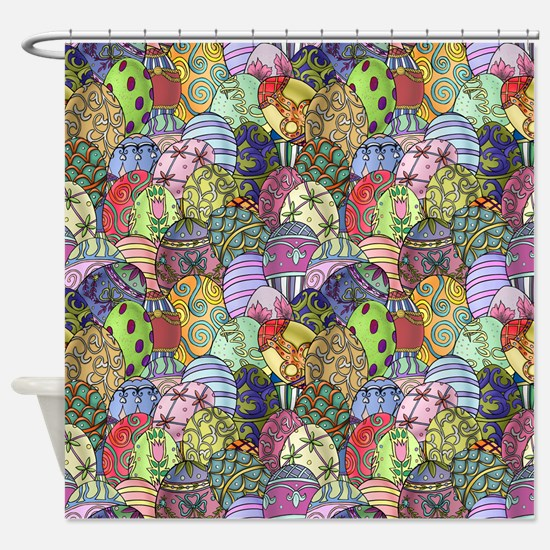 Egg Hunt Shower Curtain