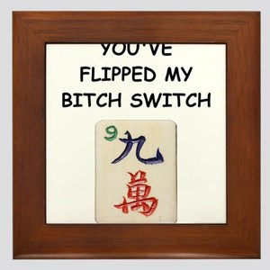 mahjong Framed Tile