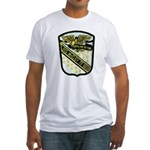 USS McCLOY Fitted T-Shirt